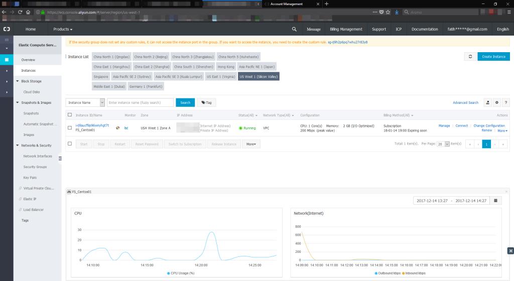 Alibaba Cloud ECS - Sanal Makine Performans Testi